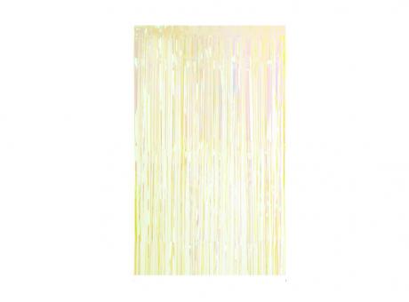 GUIRNALDAS PLASTICA TRANSPARENTE (2X1M) VERDE
