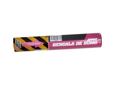 BENGALA DE HUMO COLOR ROSADO CIENFUEGOS