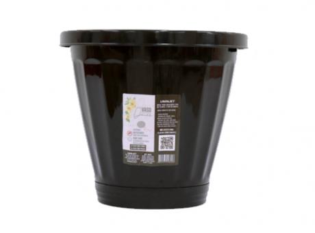 PLANTERA PLASTICO N°35 R.823 NEGRO  SW