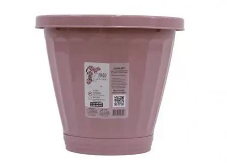 PLANTERA PLASTICO N°35 R.844 ROSADO SW