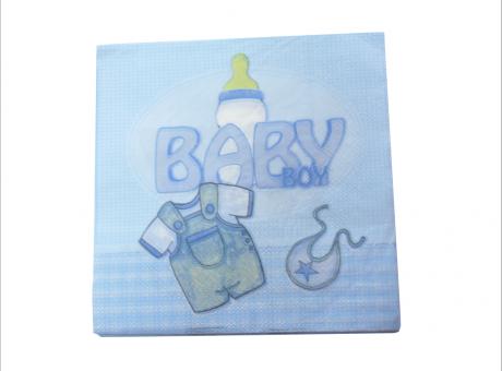 SERVILLETAS BABY BOY 20P CELESTE