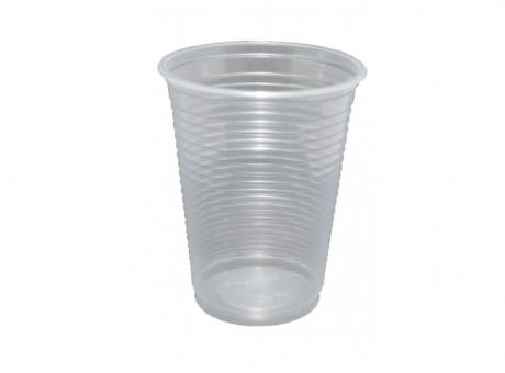 VASO PLAST. COPOBRAS 200 ML C/ 100 TRANS/AZ