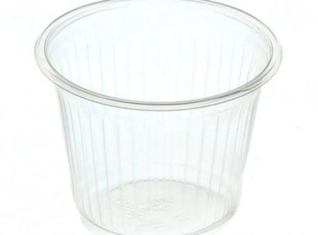 VASO PLAST. COPOBRAS 50 ML C/ 100 TRANS/ AZ CFT-50
