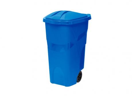 BASURERO PLAST. 120 LTS R. 432 AZUL PARAMOUNT