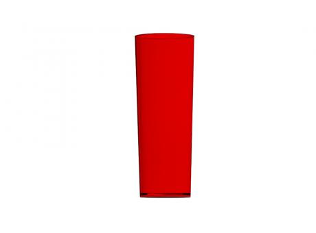 VASO COPO PIC 360 LONG DRINK ROJO GLASS PLASTILANIA