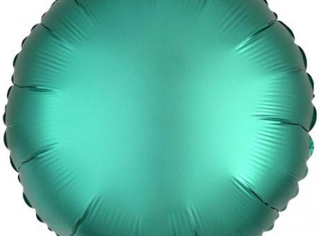 GLOBO CIRCULAR METALIZADO (55CM) VERDE