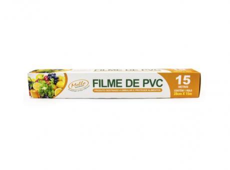 FILM DE PVC 28CM X15M CX 25 UNID MELLO